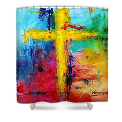 Cross 7 Shower Curtain