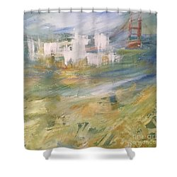 Cross A Bridge And Get Over It Shower Curtain