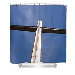 Cross At St. Augustine Shower Curtain