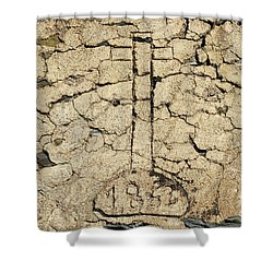 Cross From 1862. Home Protection Shower Curtain by Angelo DeVal