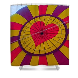 Cross My Heart Shower Curtain