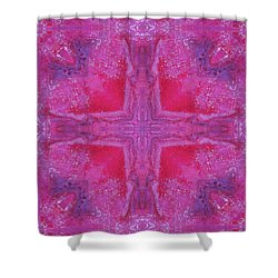 Cross Of Love Shower Curtain