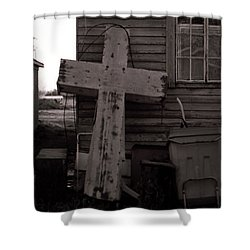 Cross Tallulah Louisiana Shower Curtain
