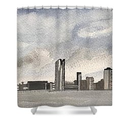 'cross The Mersey Shower Curtain