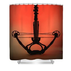 Crossbow Shower Curtain