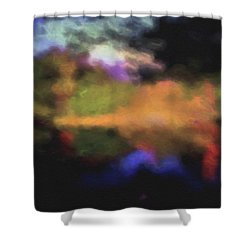 Crossing The Threshold Shower Curtain by William Horden