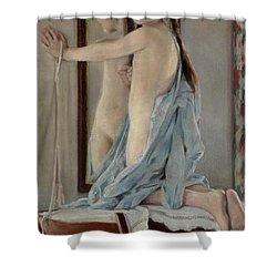 Crosslights Shower Curtain by William Sergeant Kendall