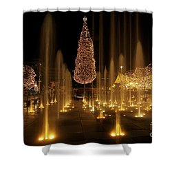 Crown Center Christmas 2 Shower Curtain