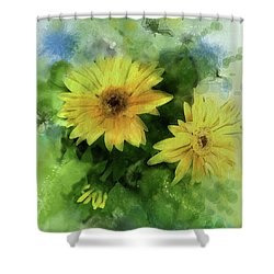 Crown Jewels Shower Curtain