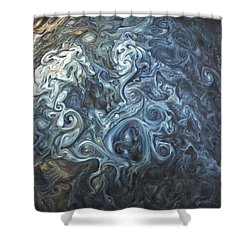 Crown Of Storms Shower Curtain