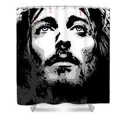 Crown Of Thorns Shower Curtain by George Pedro