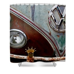 Crowned - Vw Shower Curtain