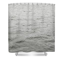 Crows In Flight Shower Curtain