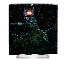Crows Nest Shower Curtain by David Lee Thompson