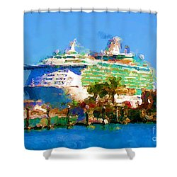 Crucero Cabo Shower Curtain by Gerhardt Isringhaus
