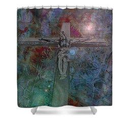 Crucifix 1 Shower Curtain