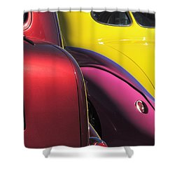 Cruise In Colors Shower Curtain