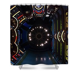 Cruise Ship Abstract Centrum Shower Curtain