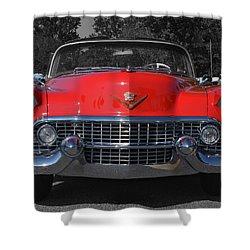 Cruising Americana Shower Curtain