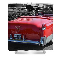 Cruising In Time Shower Curtain