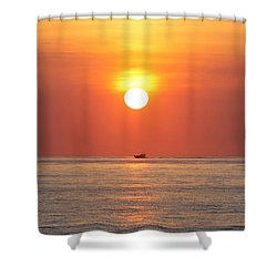 Shower Curtain featuring the photograph Cruising On The Sunshine by Robert Banach
