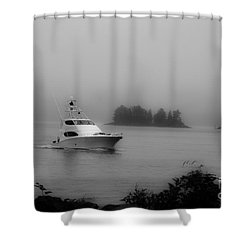 Cruising To Shore Shower Curtain