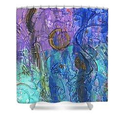 Crusader Shower Curtain by Phil Strang