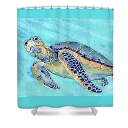 Crush Shower Curtain