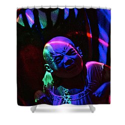 Cry Baby Shower Curtain by Patricia Arroyo