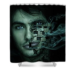 Cry For Help Shower Curtain