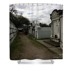 Crypts Shower Curtain