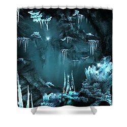Crystal Cave Mystery Shower Curtain