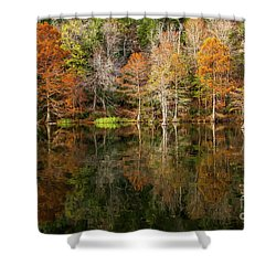 Shower Curtain featuring the photograph Crystal Clear by Iris Greenwell