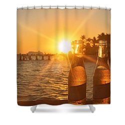Crystal Clear Shower Curtain by JAMART Photography