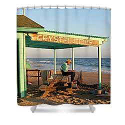 Crystal Cove Shower Curtain