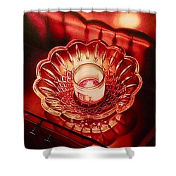 Crystal Ember  Shower Curtain