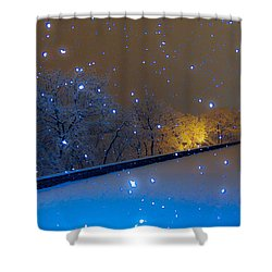 Crystal Falls Shower Curtain