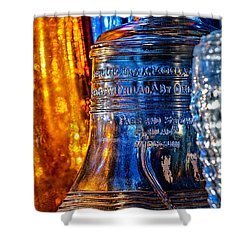 Crystal Liberty Bell Shower Curtain