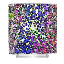 Crystal Musings 1 Shower Curtain