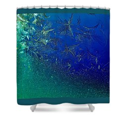 Crystal Sea Shower Curtain