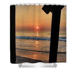 Crystal Sunrise Shower Curtain