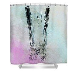 Crystal Vase Shower Curtain