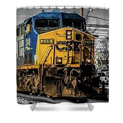 Csx Engine Gaithersburg Md Shower Curtain