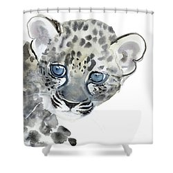 Cub Shower Curtain by Mark Adlington