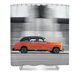 Cuba #2 Shower Curtain