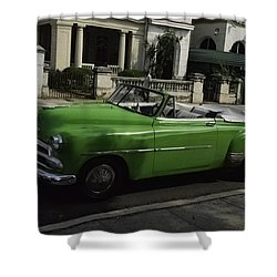 Cuba Car 3 Shower Curtain