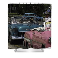 Cuba Car 4 Shower Curtain