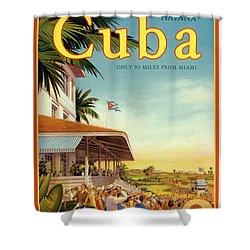 Cuba-come To Havana Shower Curtain