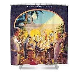 Cuba-land Of Romance Shower Curtain