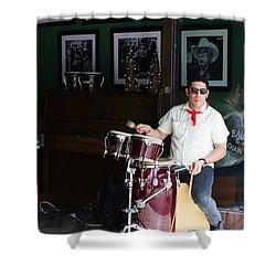 Cuban Band Shower Curtain